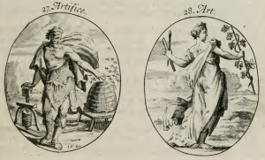 Ripa- Iconologia- Artifice and Art